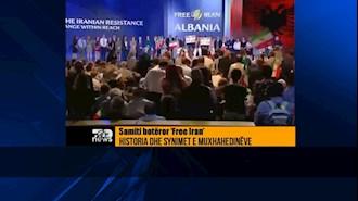 گزارش تاپ چنل از گردهمایی جهانی ایران ازاد