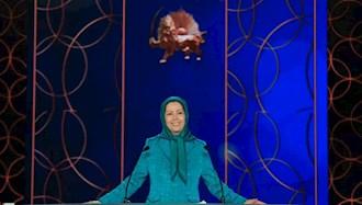 خانم مریم رجوی رئیس جمهور برگزیده مقاومت ایران