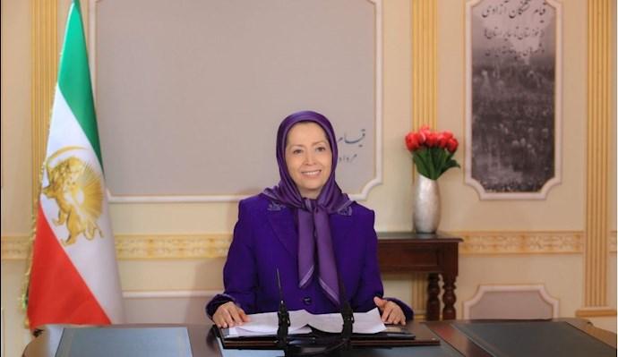 خانم مریم رجوی رئیس جمهور برگزیده مقاومت