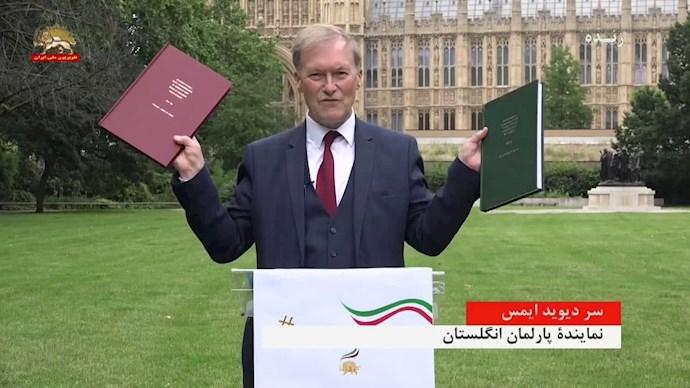 سر دیوید ایمس نماینده پارلمان انگلستان