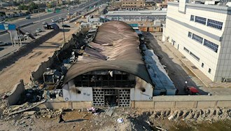 آتش سوزی در بیمارستان کروناییها در ناصریه