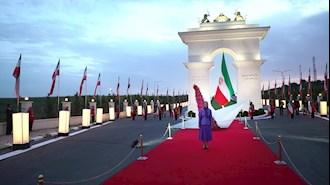 مریم رجوی رئیس جمهور برگزیده مقاومت ایران - اختتامیه گردهمایی جهانی ایران آزاد - ۲۱تیر۱۴۰۰