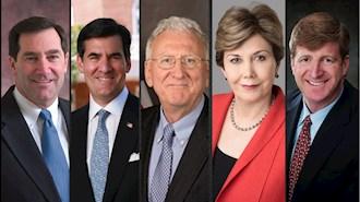 پاتریک کندی - لیندا چاوز - سفیر رابرت جوزف - سفیر میچل ریس - سناتور جو دانلی