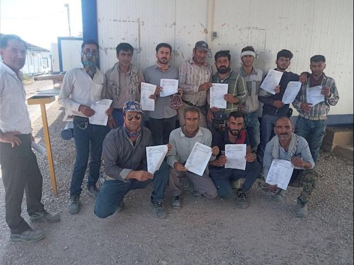 -حمایت کارگران جهانپارس پروژه آذر مهران
