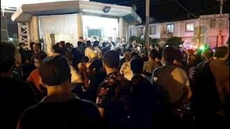 اعتراضات مردم به قطع برق