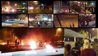 تظاهرات مردم اهواز  و شهرهای اطراف به  قطعی برق و آب ۲۴تیر۱۴۰۰