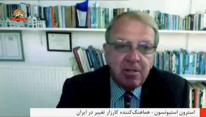 استراون استیونسون هماهنگ کننده کارزار تغییر در ایران