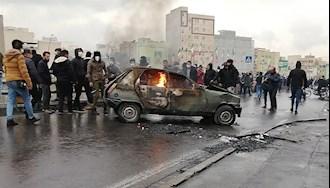 قیام آبان ۹۸ - عکس از آرشیو