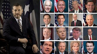 ۱۷سناتورآمریکایی ارئه دهنده لایحه