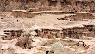 فرسایش خاک در ایران - عکس از آرشیو