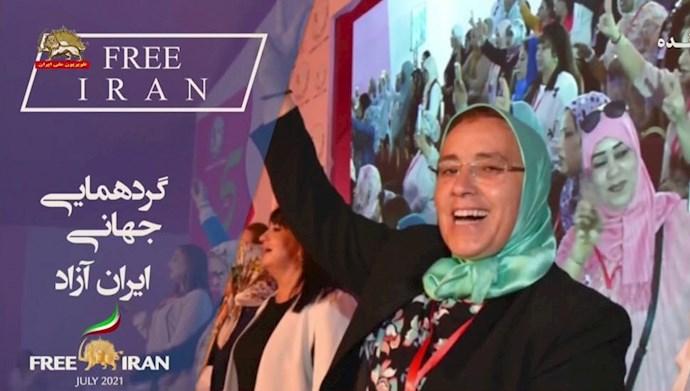 خدیجه الزومی عضو مجلس مستشاران مراکش