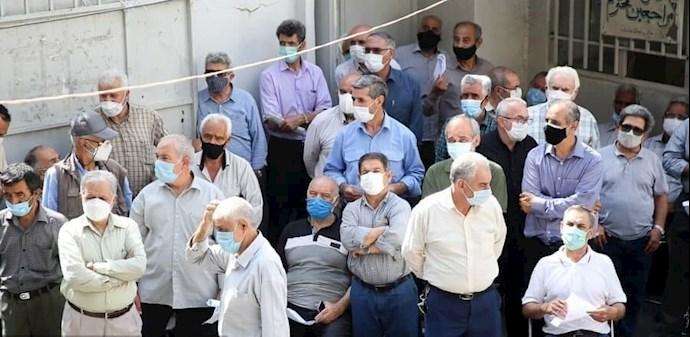 -تجمع اعتراضی کارگران و بازنشستگان تأمین اجتماعی - 2