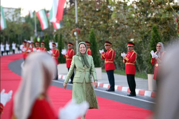 مریم رجوی رئیسجمهور برگزیده مقاومت ایران - گردهمایی جهانی ایران آزاد -۱۹تیر ۱۴۰۰ - 7