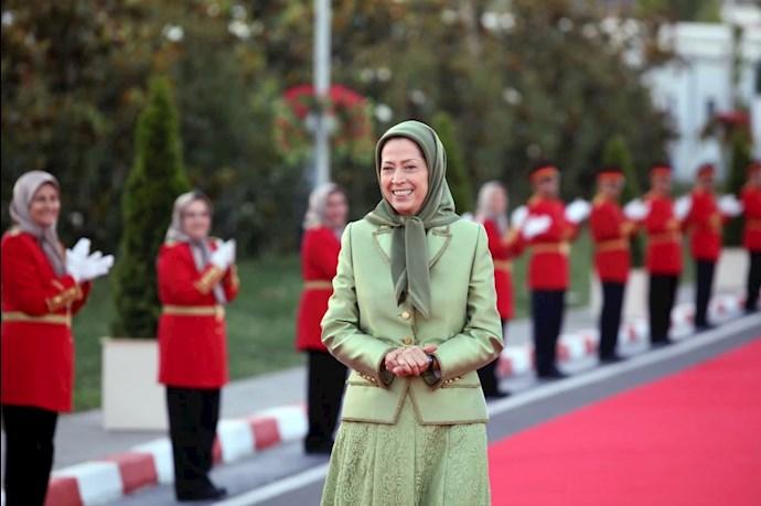 مریم رجوی رئیسجمهور برگزیده مقاومت ایران - گردهمایی جهانی ایران آزاد -۱۹تیر ۱۴۰۰ - 6