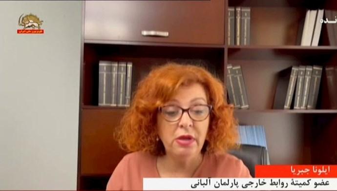 ایلونا جبریا - عضو کمیته روابط خارجی پارلمان آلبانی