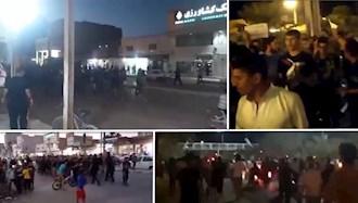 تظاهرات مردم اهواز و شهرهای اطراف به قطعی برق و بی آبی