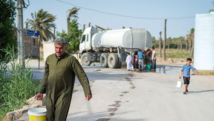 مشکل بیآبی در شهرها و روستاهای خوزستان