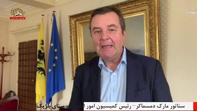 سناتور دمسماکر رئیس کمیسیون امور ایالتی در سنای بلژیک