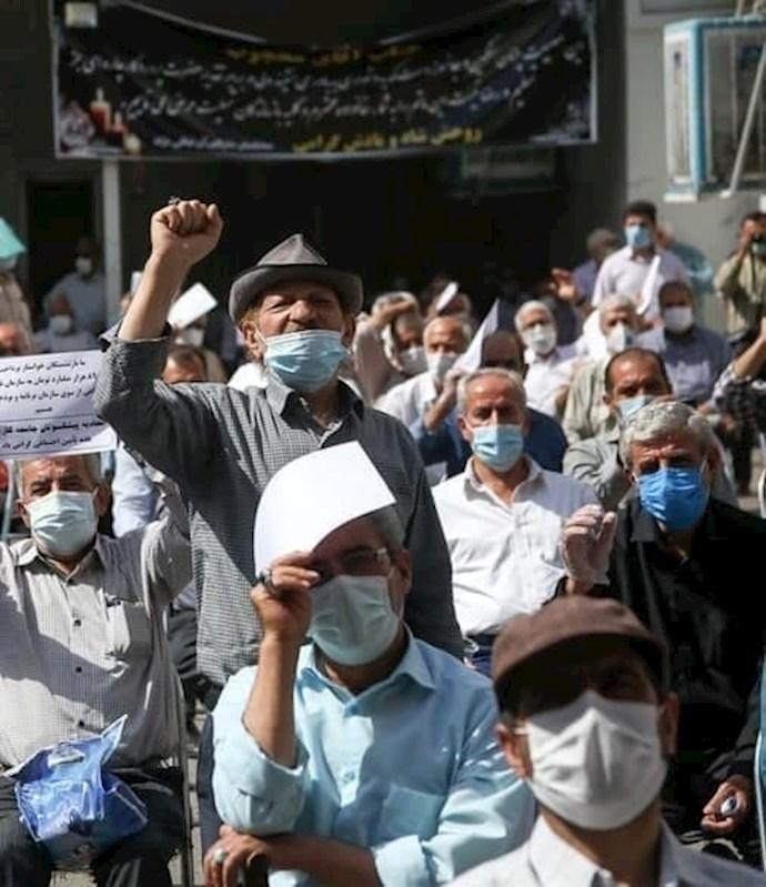 -تجمع اعتراضی کارگران و بازنشستگان تأمین اجتماعی - 4