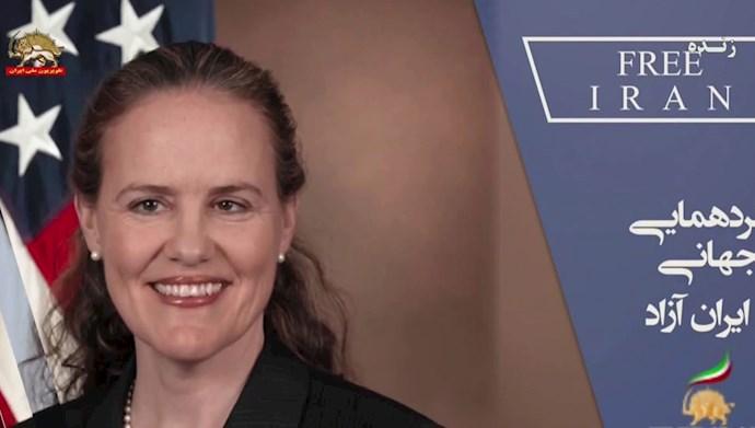 میشل فلورنوی معاون وزیر دفاع آمریکا در امور سیاست ۲۰۱۲