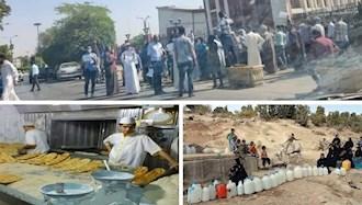 اعتراضات  در هویزه، کرمان و نیشابور