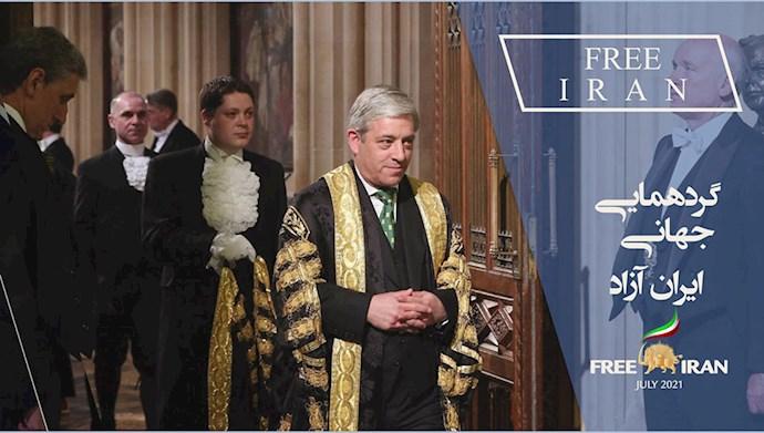 جان برکو رئیس پارلمان انگلیس (۲۰۱۹)
