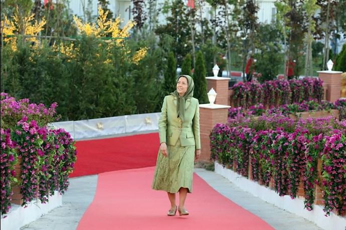 مریم رجوی رئیسجمهور برگزیده مقاومت ایران - گردهمایی جهانی ایران آزاد -۱۹تیر ۱۴۰۰ - 9