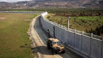 ترکیه دیوار بتنی در مرزش با ایران میکشد