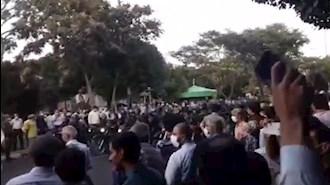 تظاهرات در تبریز