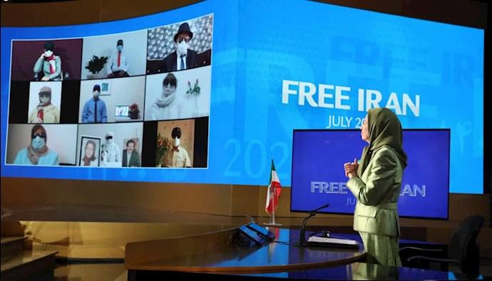گردهمایی جهانی ایران آزاد - ۱۹تیر۱۴۰۰