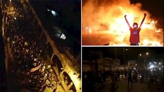 ششمین روز قیام مردم خوزستان