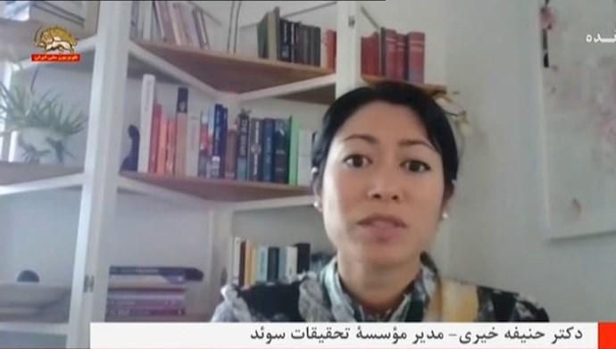 دکتر حنیفه خیری - مدیر مؤسسه تحقیقات سوئد