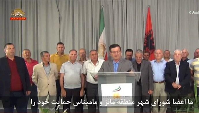 -اعضای شورای شهر منطقه مانز و مامیناس