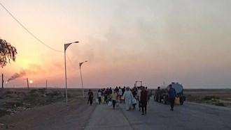 مردم روستای زهیریه اهواز در جستجوی آب