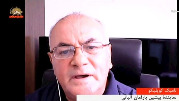 نامیک کوپلیکو نماینده پیشین پارلمان آلبانی
