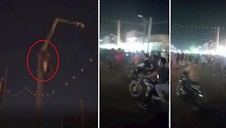 از کار انداختن دوربینهای مداربسته رژیم در کوی علوی اهواز