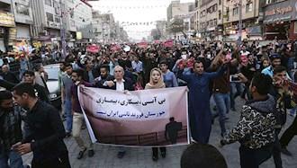 حمایت از اعتراضات خوزستان - عکس از آرشیو