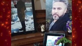 پیام  همسر شهید قیام آبان ۹۸، علی فتوحی در همبستگی با اعتصاب کارگران
