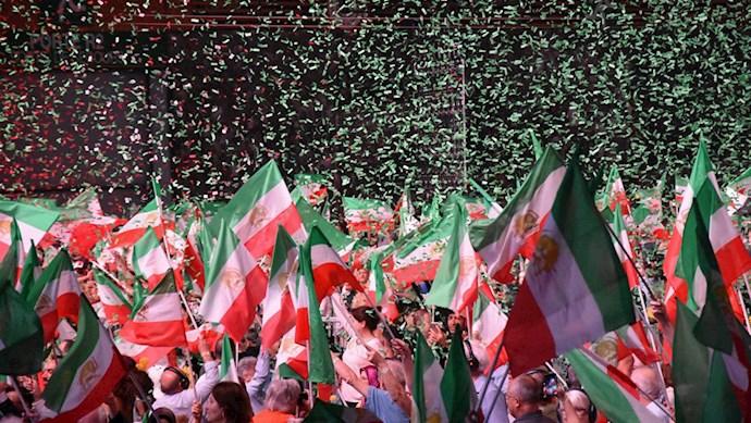 گردهمایی بزرگ ایران آزاد