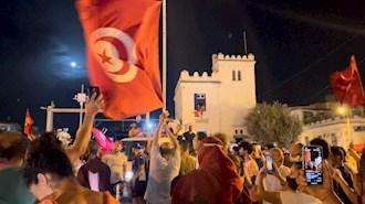 تظاهرات تونس - عکس از آرشیو