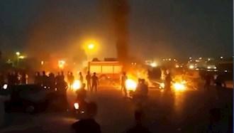 خوزستان در آتش قیام