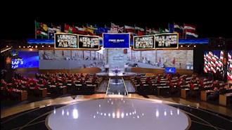 برگزاری گردهمایی جهانی ایران آزاد