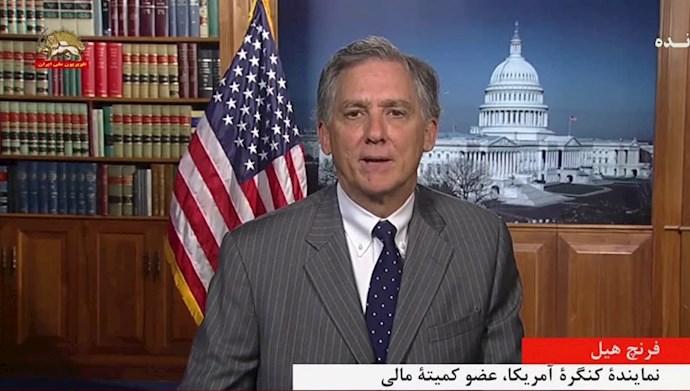 فرنچ هیل نماینده کنگره آمریکا، عضو کمیته مالی