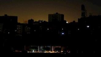 شعار مرگ بر خامنهای در قطعی برق تهران