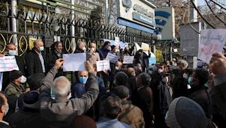 تجمع اعتراض بازنشستگان - عکس از آرشیو