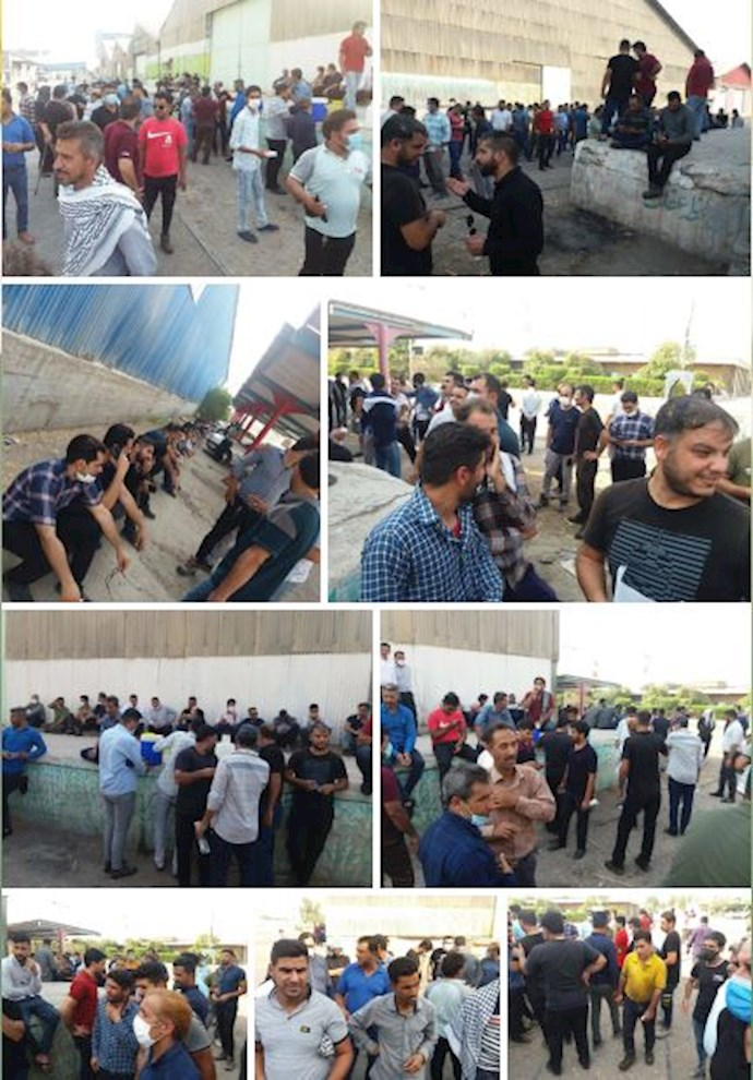 -اعتصاب کارگران هفتتپه