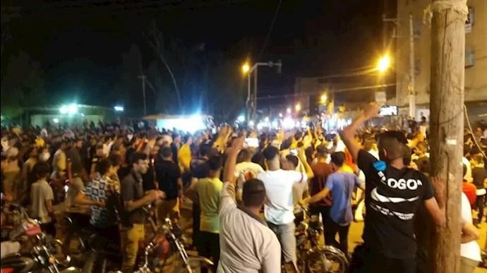 ششمین روز از قیام مردم خوزستان