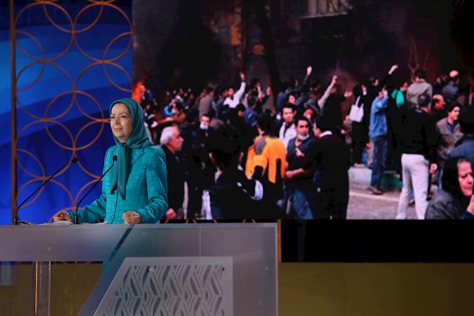 سخنرانی خانم مریم رجوی در اجلاس شورای ملی مقاومت بهمناسبت چهلمین سالگرد تأسیس شورا