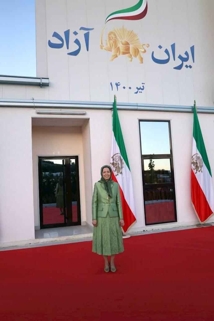 مریم رجوی رئیسجمهور برگزیده مقاومت ایران - گردهمایی جهانی ایران آزاد -۱۹تیر ۱۴۰۰ - 8