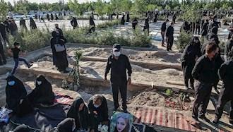 دفن جانباختگان کرونا در مشهد